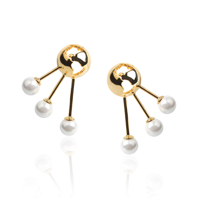 Luna Earrings by Cristina Ramella