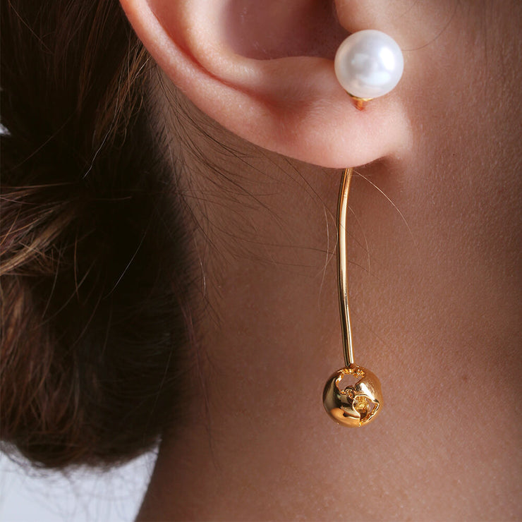 Luna Long Earrings by Cristina Ramella