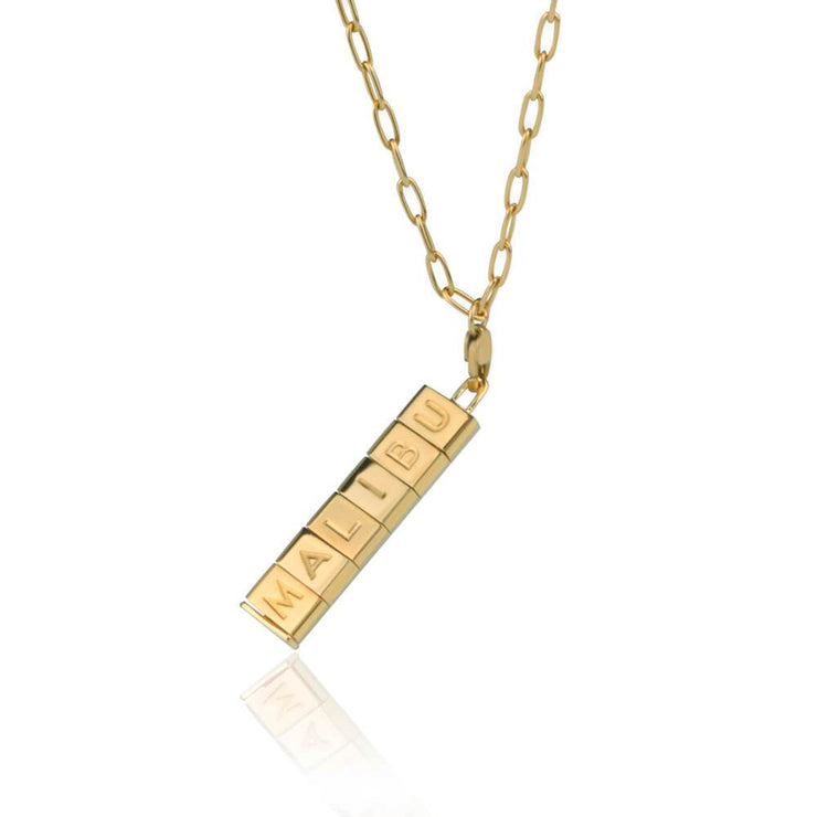 Malibu Bricks Necklace by Cristina Ramella