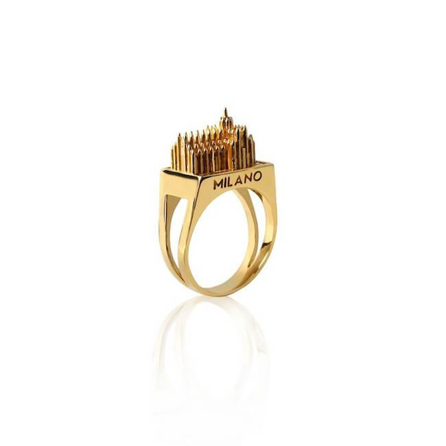 Milan Ring by Cristina Ramella