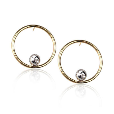 Orbit Earrings by Cristina Ramella