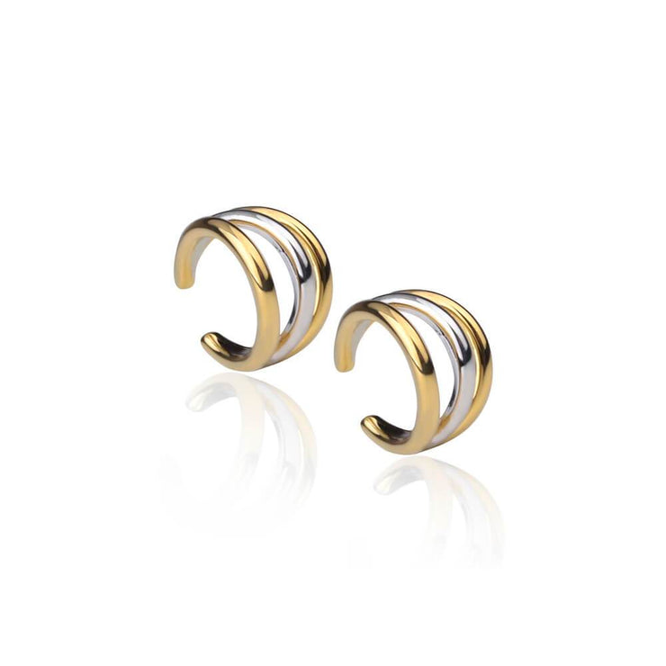 Triple Orbit earcuff x2