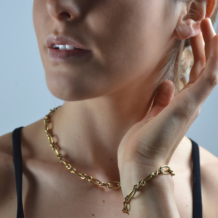 Orbit Chain Necklace