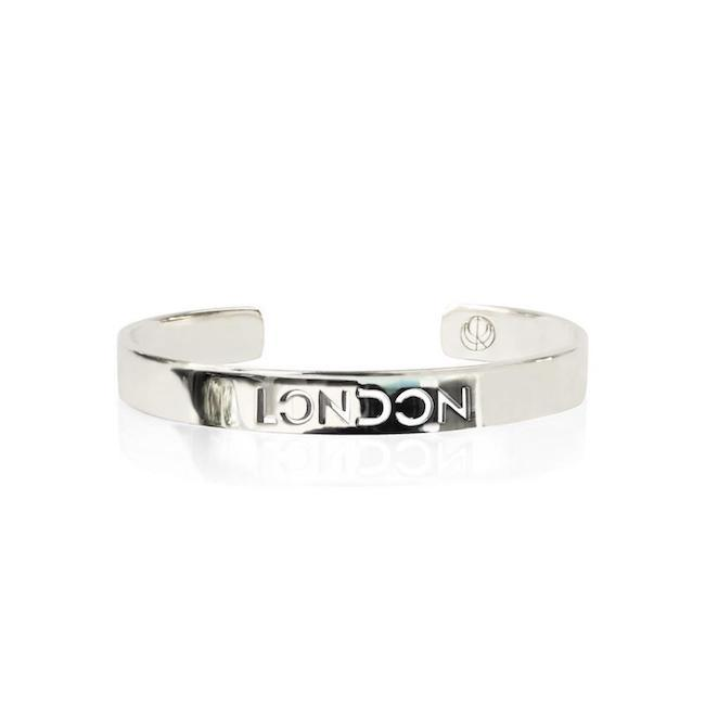 Rhodium London Bracelet