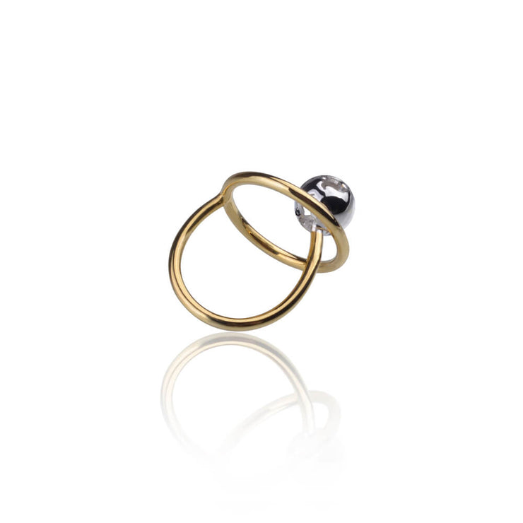 Orbit Ring by Cristina Ramella