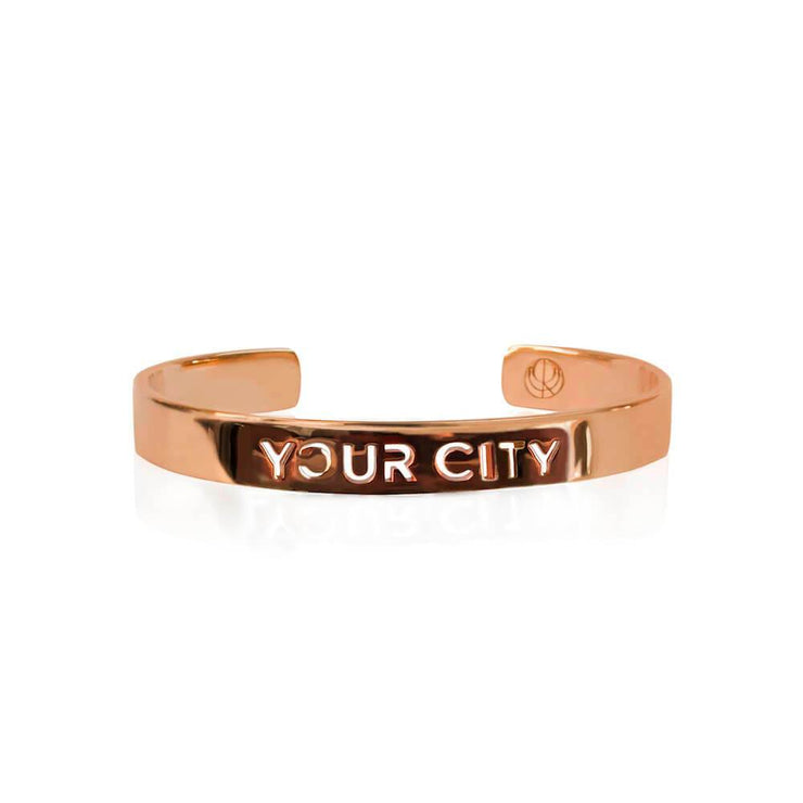 24K Rose Gold Plated by Cristina Ramella