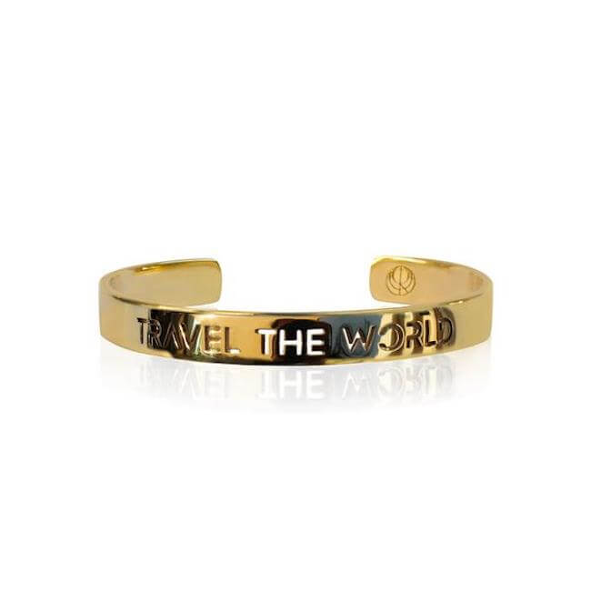 24K Gold Plated Build your Stack Bracelet by Cristina Ramella