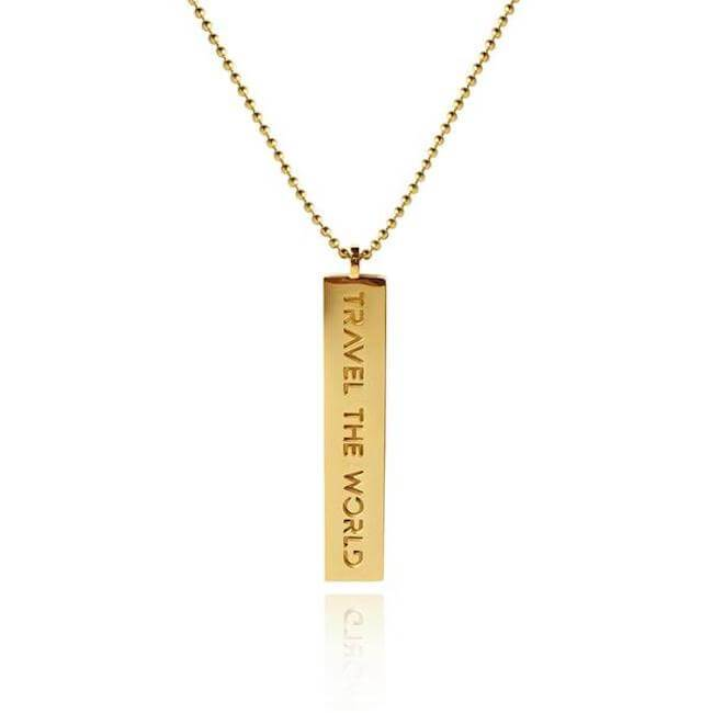 Travel the World Necklace by Cristina Ramella