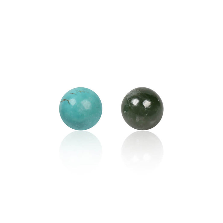 2 Gemstones set by Cristina Ramella