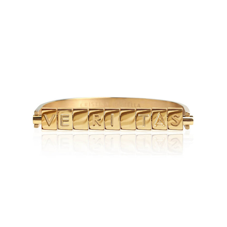 Veritas Bricks bracelet by Cristina Ramella