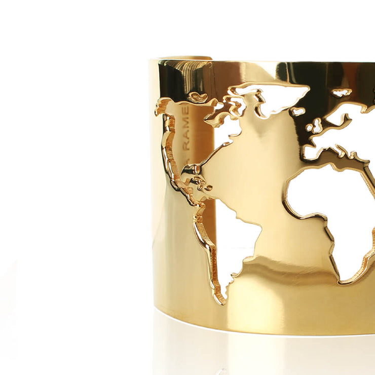 World Cuff Detail by Cristina Ramella