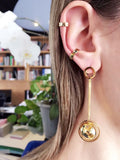 Wearing World Earrings