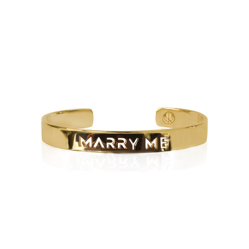 marry me bangle, original proposal, valentine's gift guide, gifts for her, valentine's day, cristina ramella