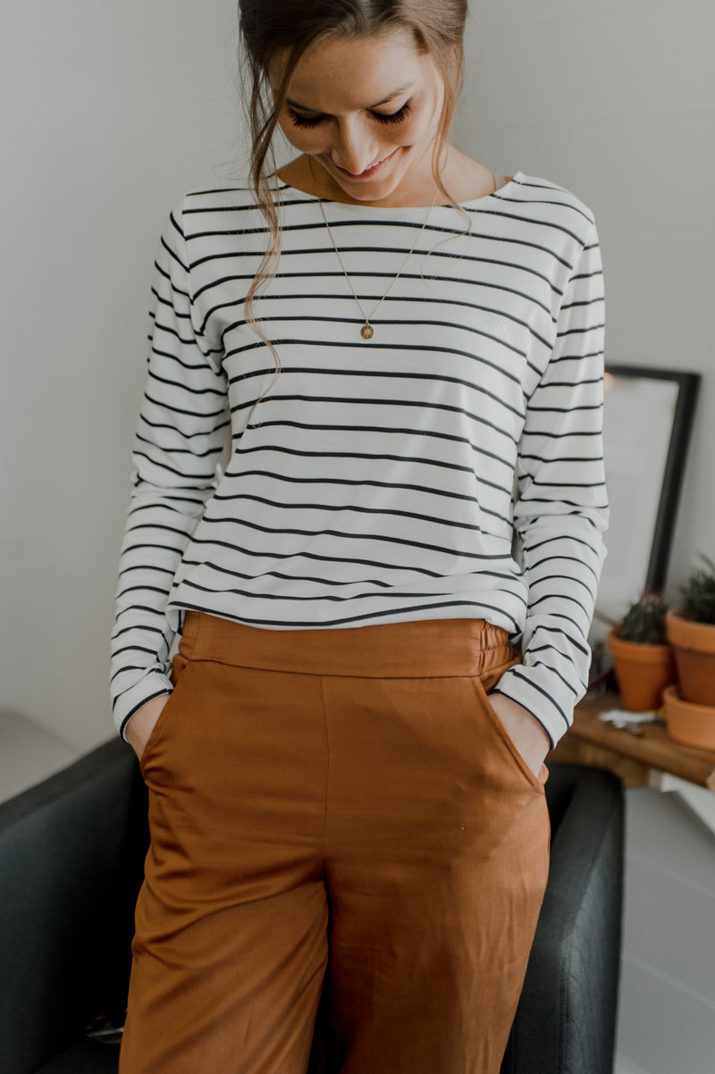 Long sleeves crew - Stripes