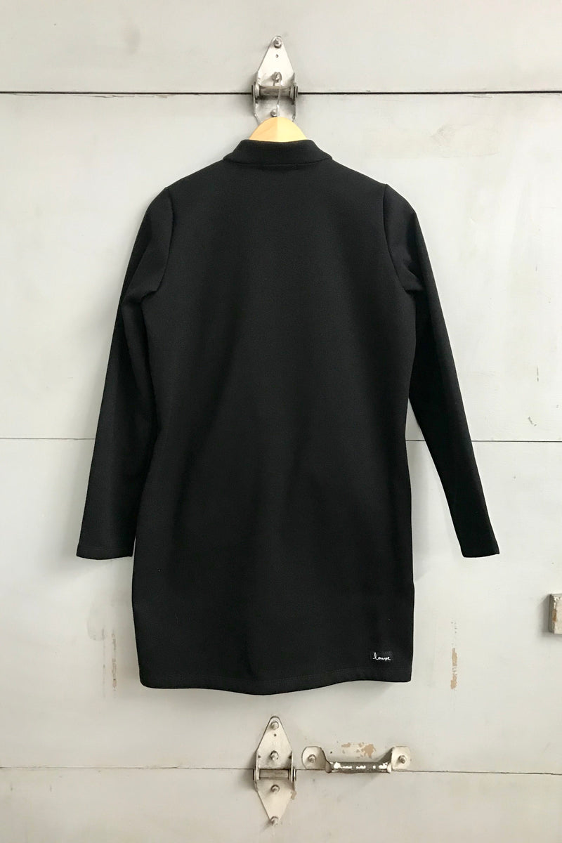Parka fleece - Black