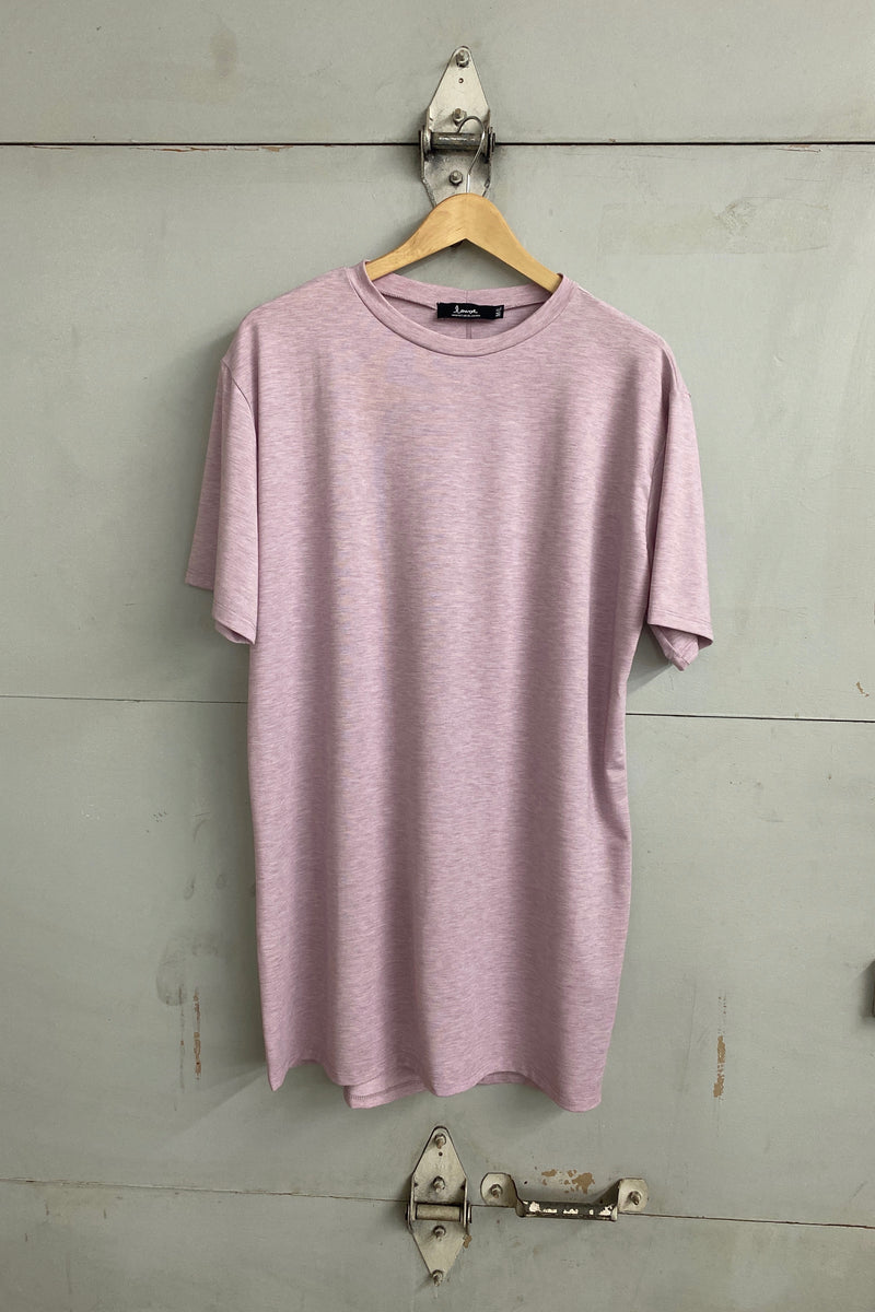 Oversized t-shirt long - Lyocell