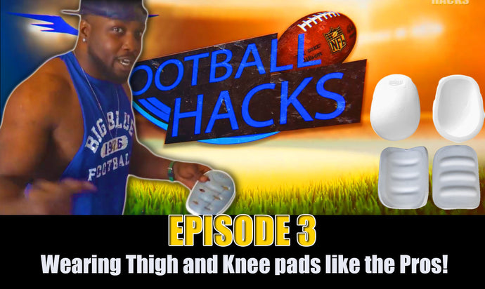 VIDEO: American Football Life Hacks EP.3 - Wearing your Protective pads like the Pros!
