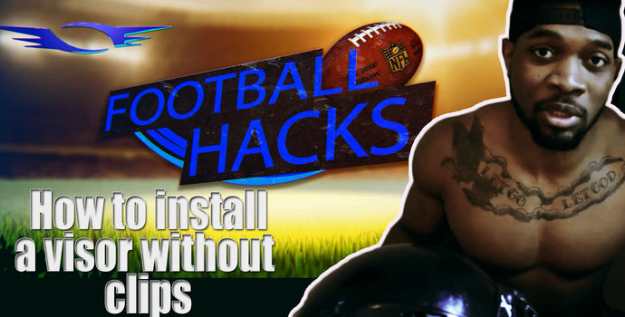 VIDEO: Football Hacks: Missing Visor Clips? Don't worry, we have a hack for that!