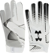 Under Armour F6 Football Gloves (M, L, XL)