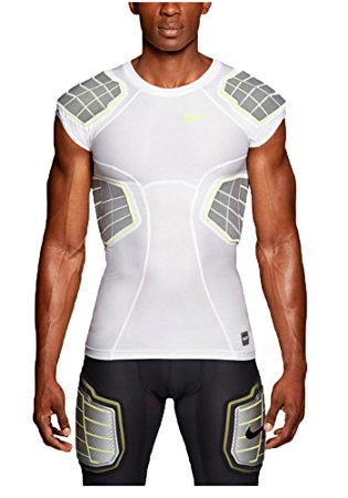 NIKE PRO HYPERSTRONG 3.0 COMPRESSION 4-PAD SHIRT - Medium Large