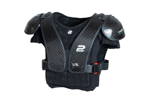 Two In One  Carbontek Successor Shoulder Pad (Carbon Shell) - SportsTakeoff