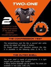 "Two In One  Compression Vest  ""Carbontek Successor"" - SportsTakeoff"