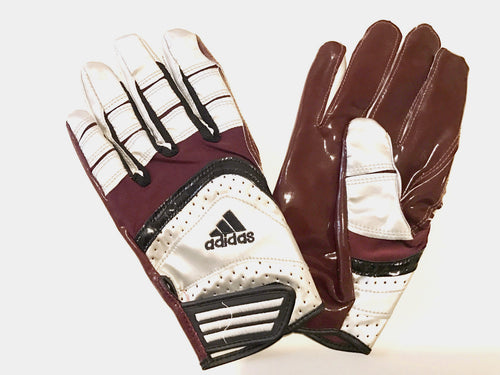 Adidas Scorch Lightning Gloves (XL) - Maroon - SportsTakeoff