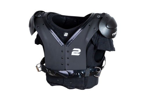 Two In One  Carbontek Shoulder Pad (Polyethylene Shell) - SportsTakeoff