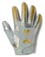 "Under Armour F6 Football Gloves (M) ""Lock Down"""