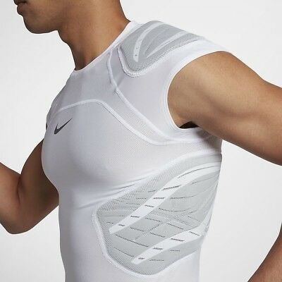 NIKE PRO HYPERSTRONG COMPRESSION 4-PAD SHIRT (L) - SportsTakeoff