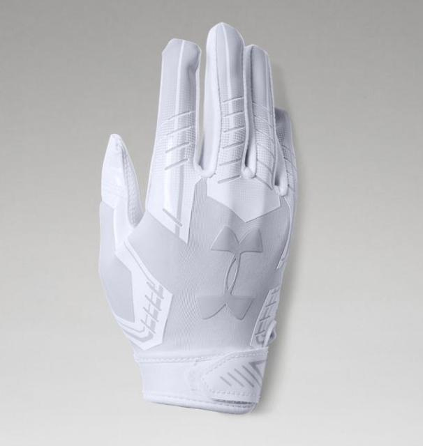 Under Armour F6 Football Gloves (M, L, XL) - SportsTakeoff