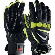 Nike Hyperbeast 2.0 Padded Gloves- Black Volt (Medium )