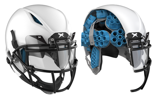 XENITH SHADOW XR Football Helmet (XL) - SportsTakeoff