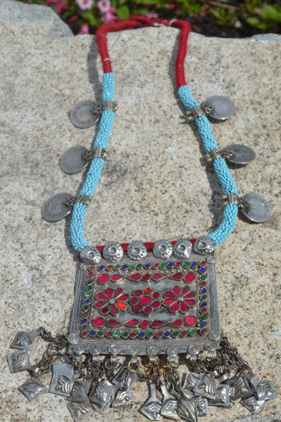 Amala Tribal Coins Necklace