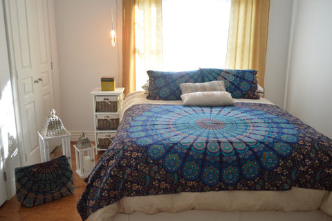 Blue Moon Bed Set