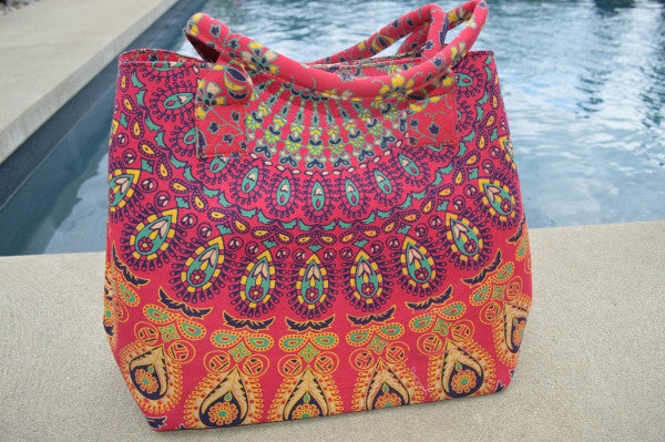 Sunrise Mandala Handbag