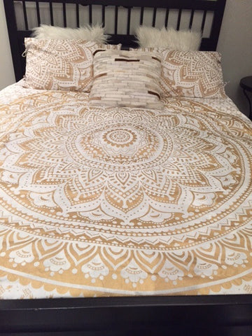 Gold Rush- Bed Set