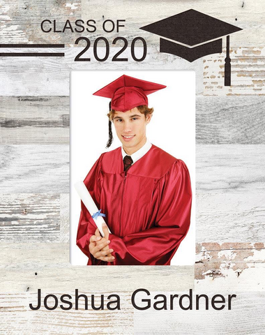Graduation Frame - 4x6 (Assorted Colors)