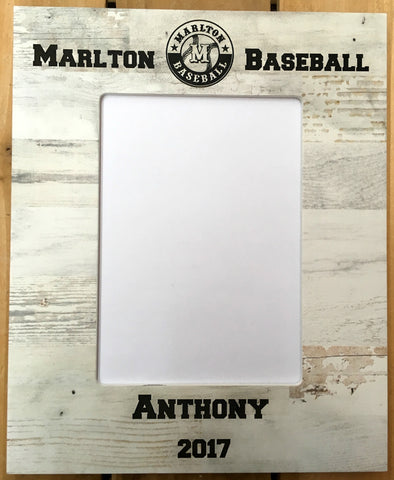 Marlton Baseball Frame - Black Polish