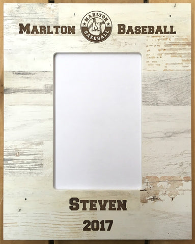 Marlton Baseball Frame - Brown Polish