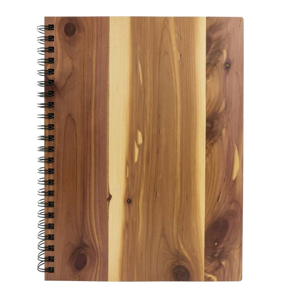 Real Wood Spiral Sketchbook