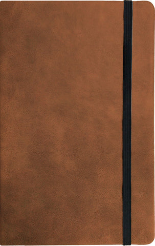 Large Faux Leather Notebook