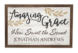 Amazing Grace Framed Sign