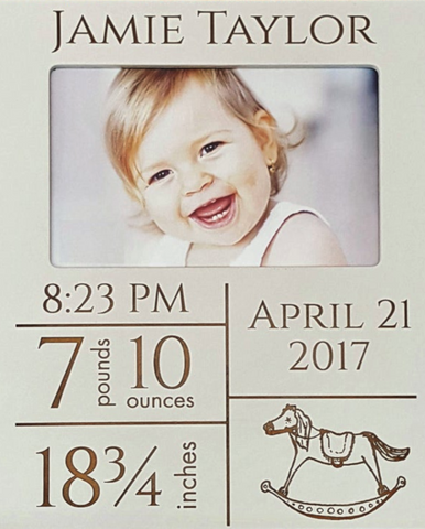 Birth Announcement Frame