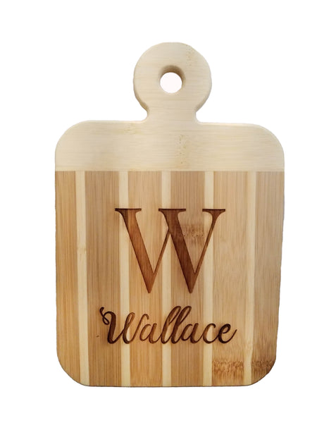 engraved personalized cutting board welcome laser engraving customizable bamboo gift present party celebration house gift housewarming kitchen kitchenware