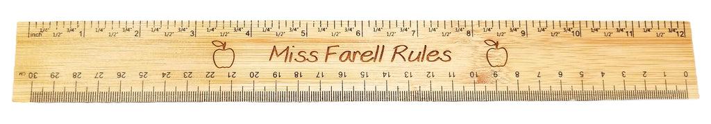 Engravable Ruler