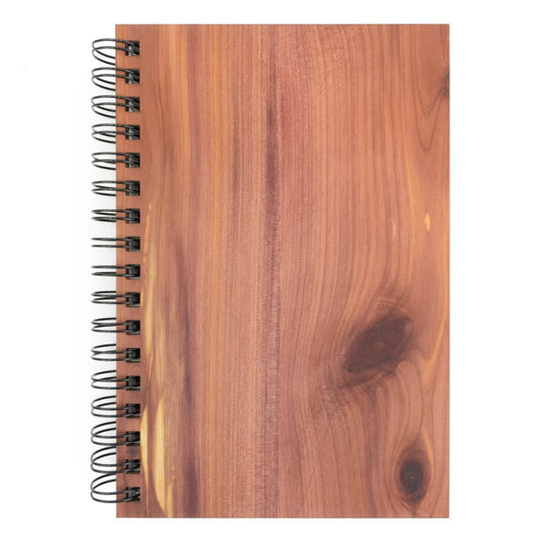 Real Wood Spiral Journal