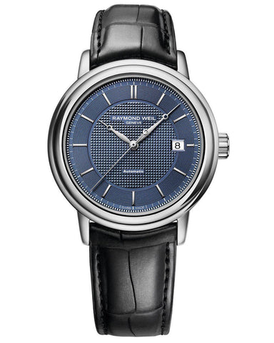 2837-STC-50001 Raymond Weil Maestro Automatic Blue Dial Watch