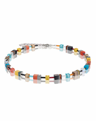 Coeur De Lion GeoCUBE® Necklace Multicolour Daylight Fresh