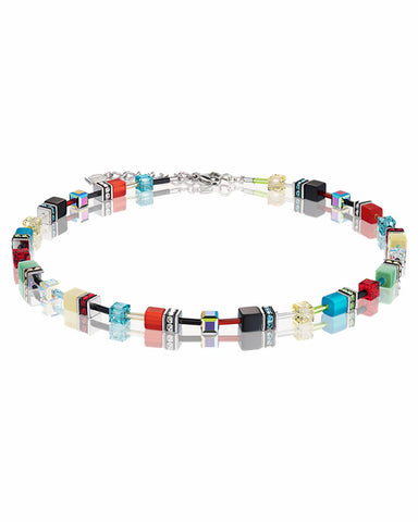 Coeur De Lion GeoCUBE® Necklace Multicolour Bouquet Fresh